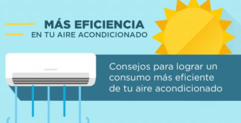 Infografía: cómo combinar aire acondicionado y eficiencia