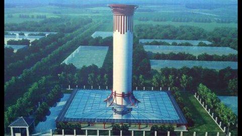 Ya está en pruebas el purificador de aire más grande del planeta